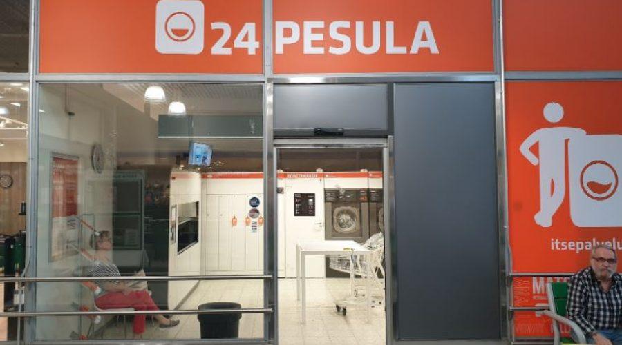24 Pesulassa Turun Länsikeskukseesa peset matot ja isot kodintekstiilit helposti ja nopeasti.